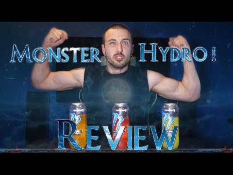 Monster Hydro Review The Best Rehydration Sports Energy Drink