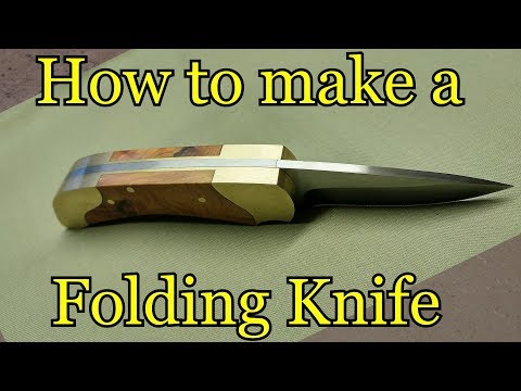 How to make a folding knife Template