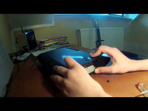 How to install hard drive New PS3 Super slim 12GB