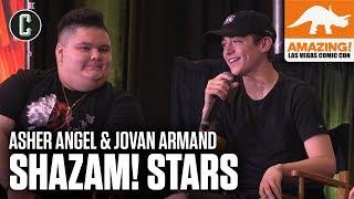 Shazam! Stars Asher Angel & Jovan Armand - Amazing Con Las Vegas 2019