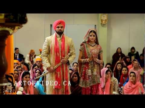 Toronto's Most Watched Cinematic Sikh Punjabi Wedding Trailer! Scarborough Gurudwara