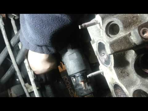 How to Change Replace Speed Sensor Peugeot 206