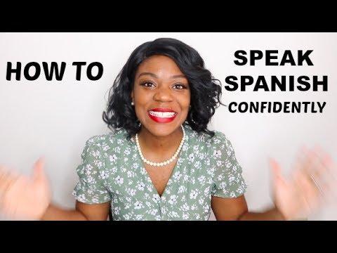 HOW TO SPEAK SPANISH CONFIDENTLY | BEST 3 TIPS!! | Ambie Gonzalez