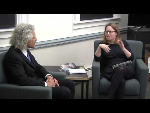 GSAS Writer's Night: An Evening with Steven Pinker 3/23/17