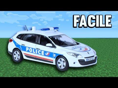TUTO VOITURE POLICE ULTRA RÉALISTE !   Minecraft