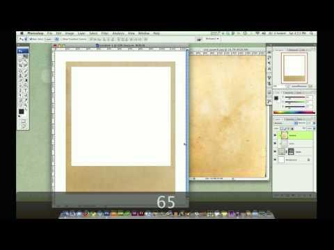 Photoshop Tutorial : Create a Vintage Polaroid Photo