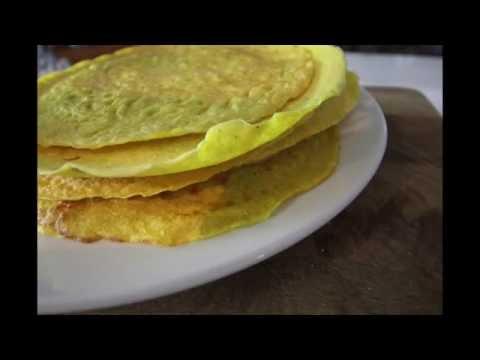 Coconut & Turmeric Tortilla Recipes - Gluten free & Dairy free