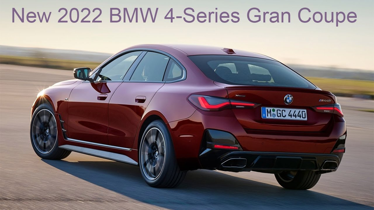 New BMW 4-Series Gran Coupe 2022 - First look, Interior, Exterior, Driving, PRICE & RELEASE DATE