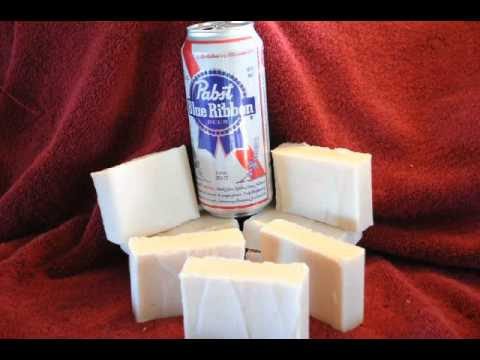 Beer Soap. Cold Process soap