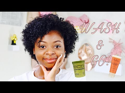 QUICK Wash & Go on Short Natural Hair !