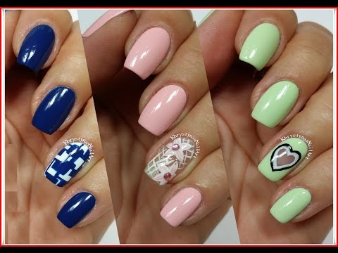 3 Easy Nail Art Designs for Short Nails | Freehand #6