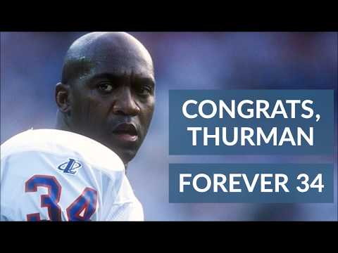 Buffalo Bills will retire Thurman Thomas' No. 34