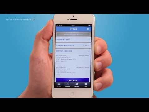 SAS App: Book flights and hotels, check-in, download boarding pass and much more | SAS