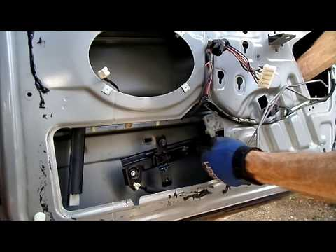 Grand Cherokee Window Motor Regulator Removal