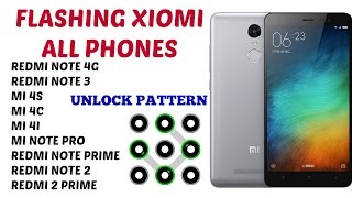 How to Flash REDMI NOTE 4G GLOBAL 2014712 लॉक रिसेट
