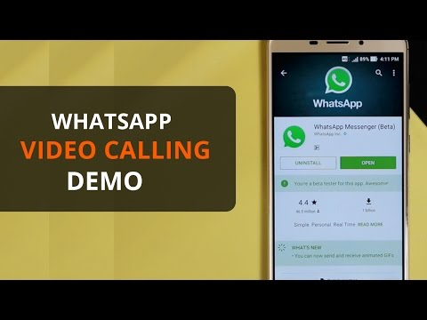 How to use WhatsApp video calling