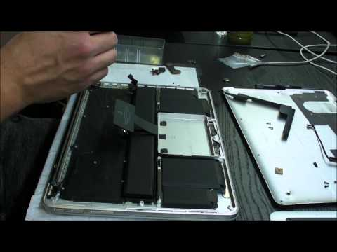 Macbook Pro Retina A1425 keyboard replacement