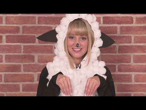 How To Design A Sheep Costume