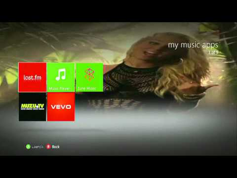 Tulisa Xbox 360 Theme ( Free Download )