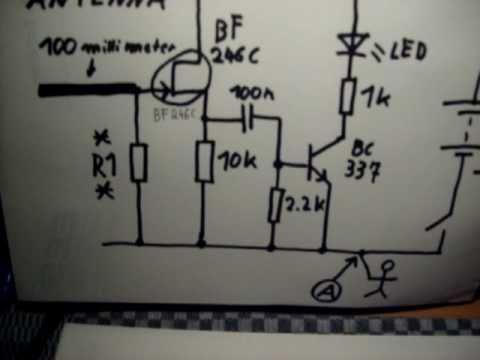 EMF Detector homemade