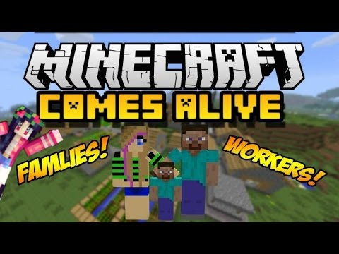Villagers Come Alive! | MCPE Addon [iOS and Android]