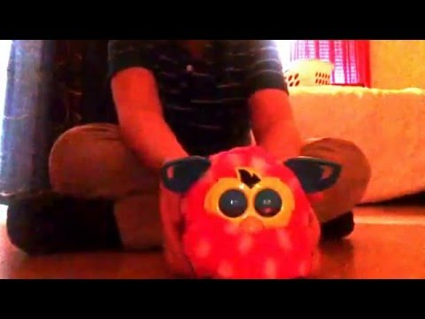 How to put A Furby Boom 2013 to sleep