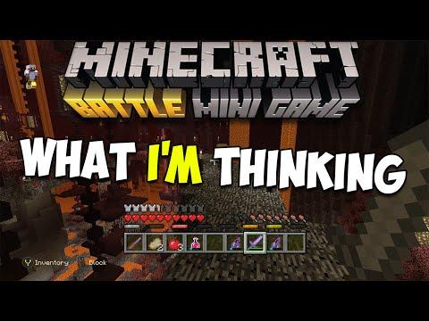 Minecraft Console Battlemode: What's Going Through My Head..