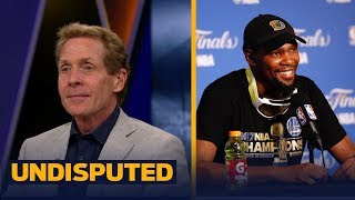 Warriors star Kevin Durant had a message for Skip Bayless on YouTube  UNDISPUTED