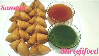 પરફેકટ સમોસા રેસીપી  aloo samosa recipe step by step  perfect khasta samosa recipe