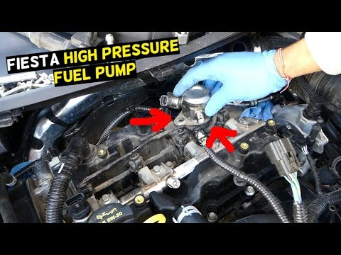 FORD FIESTA ST HIGH PRESSURE FUEL PUMP REPLACEMENT REMOVAL MK7 ST