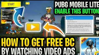 How To Get Free Bc By Watching Video Ads How To Enable Video