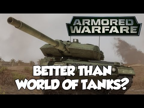 Armored Warfare VS World of Tanks - NEW, MODERN, and BETTER?