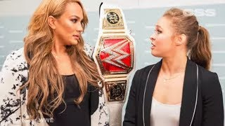 Ronda Rousey is already fighting for championship gold in WWE