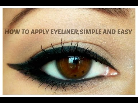 How To Apply Eyelinersimple And Easy Guide For Beginnersindian Beauty