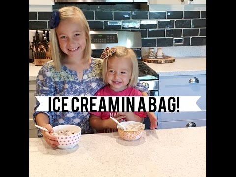 HOW TO: ICE CREAM IN A BAG!