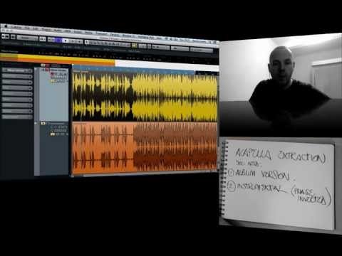 Learn how to extract an acapella from a track - Black Book Lesson Six - Cubase/Logic/Ableton