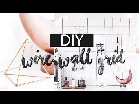 DIY - Wire Wall Grid | LLimWalker