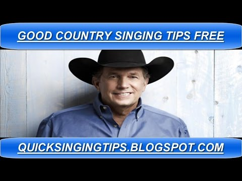 Good Country Singing Tips - 3 Quick How To Tips