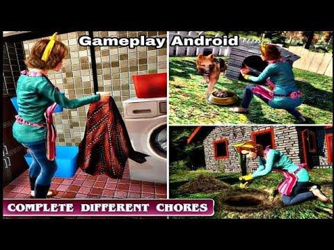 Virtual Maid Simulator: Family Fun Games