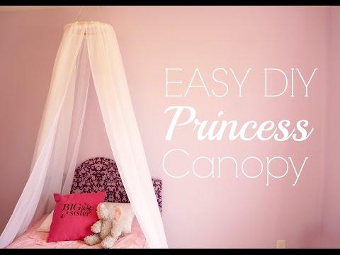 Easy DIY Princess Canopy