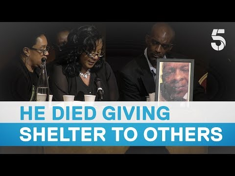 Raymond 'Moses' Bernard died sheltering six other people hears Grenfell inquiry - 5 News
