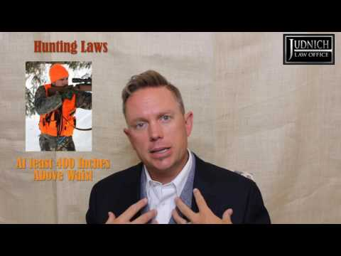 Montana Hunting Laws: Learn the Rules & Regulations | Judnich