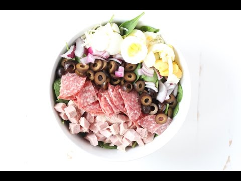 How to Make Cobb Salad with Holiday Leftovers