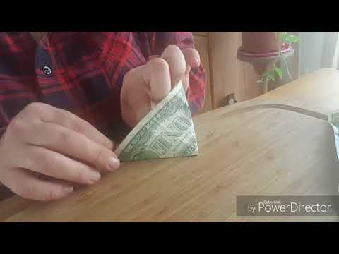 How to make an oragami money tree