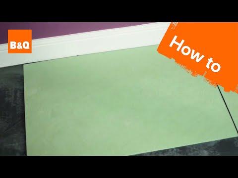 How to lay flooring part 2: underlay