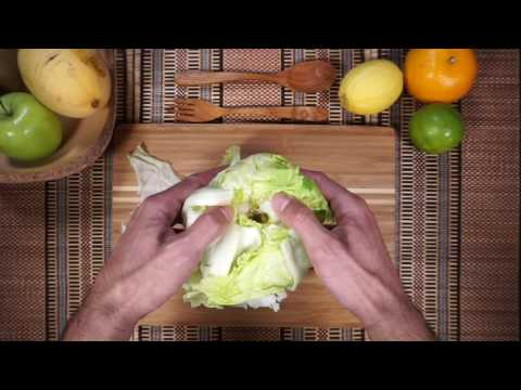 How to core a Lettuce