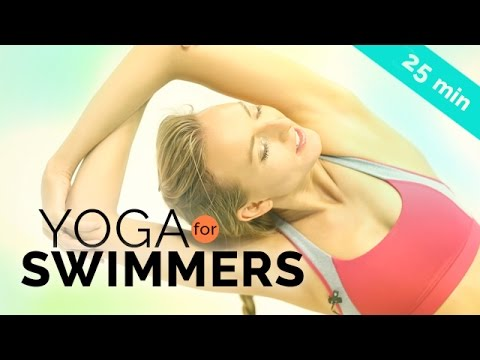 YOGA FOR SWIMMERS 🏊 Shoulder, Leg & Hip Stretching 25-Min All Levels