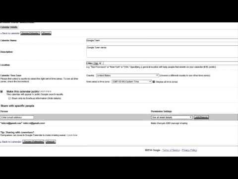How to Make a Calendar on Google Docs : Using Google