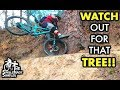 OVER COMMIT vs UNDER COMMIT  // Mountain Biking the Drunken Monkey Trail at Croom