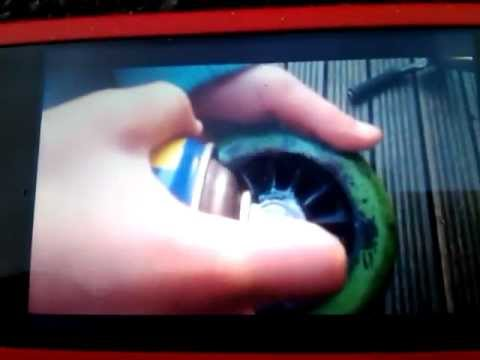 How to make bearings spin faster